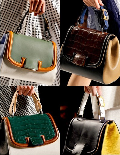 The Logo Double F Also Has New Design Which Ears On Small Independent Sching Leather Instead Of Whole Bag
