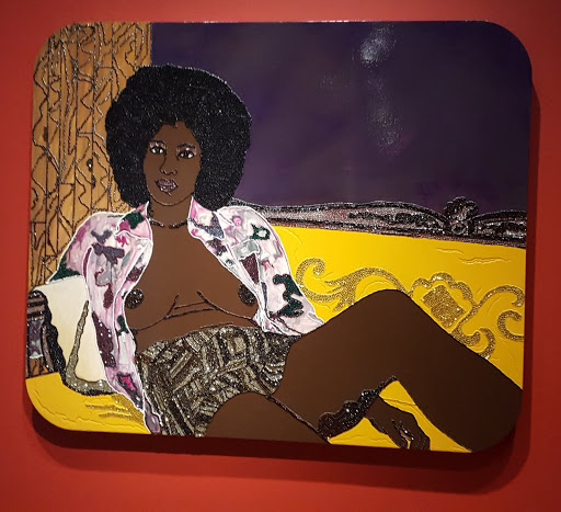 Hotter than July. Mickalene Thomas. From Love, Change, and the Expression of Thought: 30 Americans at the Detroit Institute of Arts