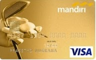 Kartu Kredit Mandiri Golf Gold