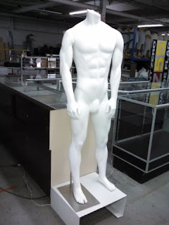 MALE AND FEMALE  MANNEQUINS FULL LENGTH - 4