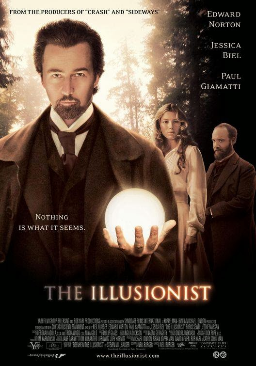 Poster Of The Illusionist (2006) Full Movie Hindi Dubbed Free Download Watch Online At Alldownloads4u.Com