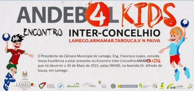 Encontro Inter-Concelhio de Andebol4Kids - Lamego - 30 de Maio