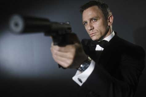 Skyfall, escena Daniel Craig
