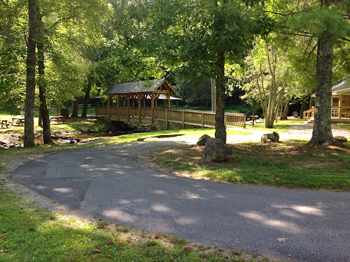 One of the picnic areas at Vogel.