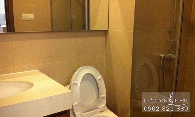 phòng tắm của căn hộ 105m2 tại thảo điền pearl quận 2