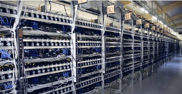 GPU mining rig for bitcoin mining