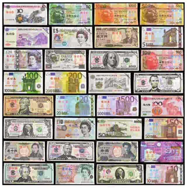 Daftar Nama Mata Uang Negara Dunia