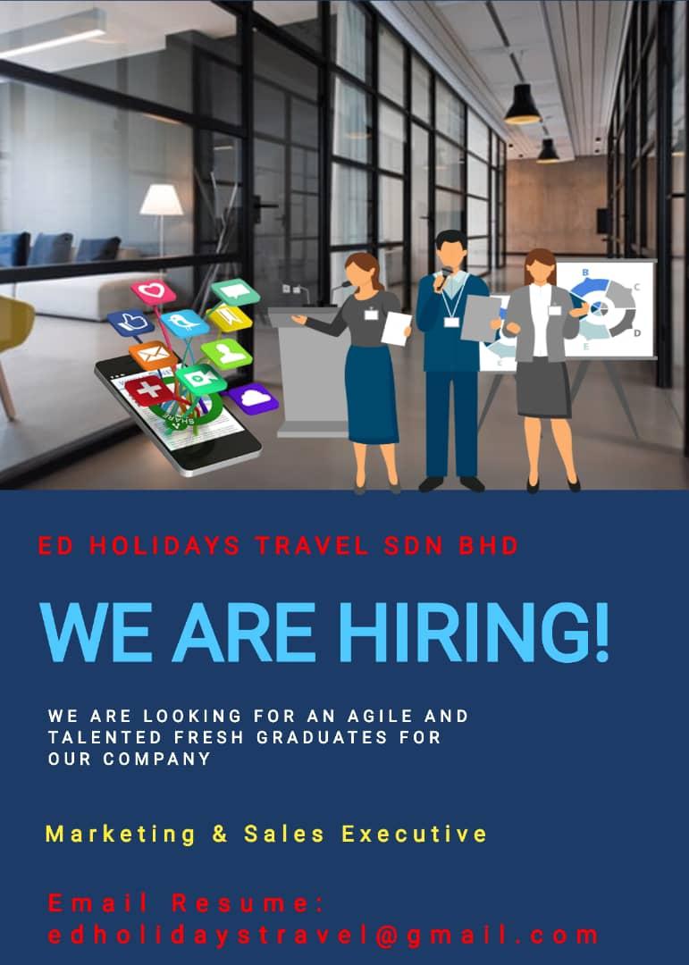 Kerja Kosong Sabah 2020 | Sales & Admin Executive