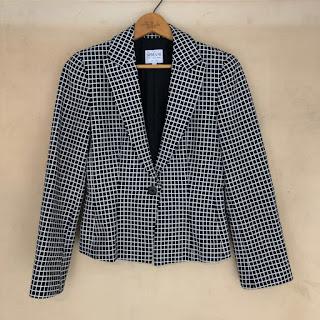 Armani Collezioni Check Jacket