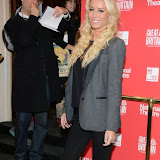 WWW.ENTSIMAGES.COM -   Denise Van Outen    arriving  at     Great Britain - press night at Theatre Royal Haymarket, London September 26th 2014West End Opening at Theatre Royal Haymarket for Richard Bean's GREAT BRITAIN -  Play about an ambitious tabloid editor in production described as anarchic satire about the press, the police and the political establishment.                                                    Photo Mobis Photos/OIC 0203 174 1069