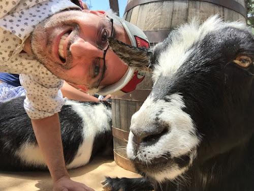 Disneyland flora fauna goats