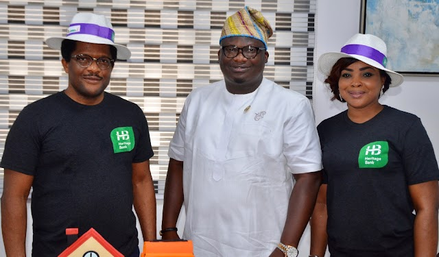 Heritage Bank Partners LAWMA For Sustainable Greener, Cleaner Lagos…Launch Lagos Recycle Initiative