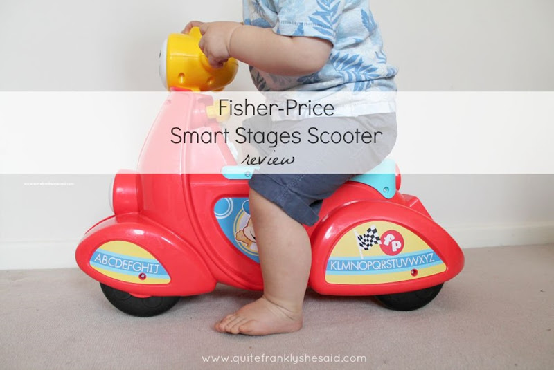fisher-price smart stages scooter review