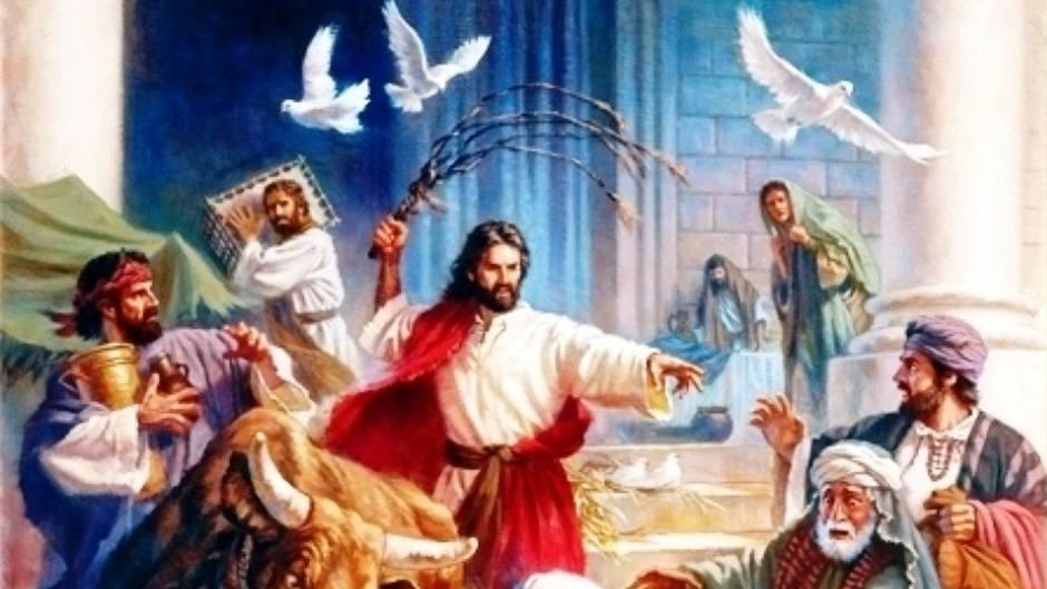 điều gì làm chúa Giêsu nổi nóng