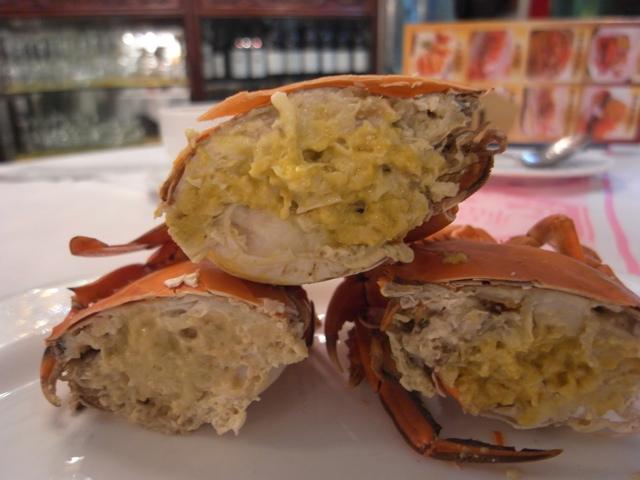 Joey ~ Travel & Home cooking ; 愛自助游愛自煮 ~~: 超級美味的奄仔蟹,比大閘蟹有過之而無不~~Super delicous Virgin crab