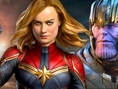 Entertainment: Avengers Endgame: How Captain Marvel Brushed Off Thanos' Infinity Headbutt