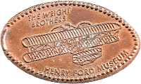 The Wright Brothers penny