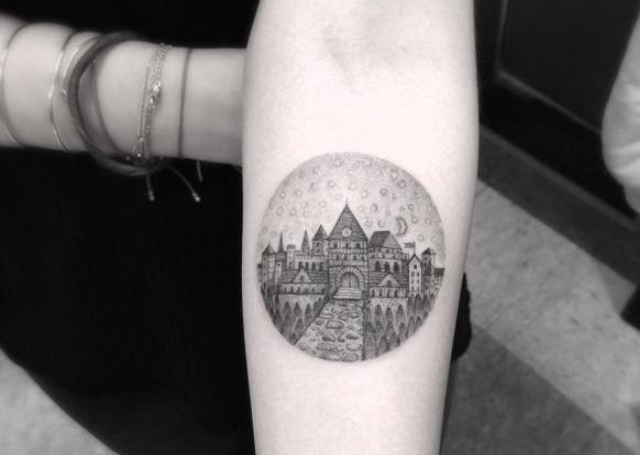 Este castelo de hogwarts