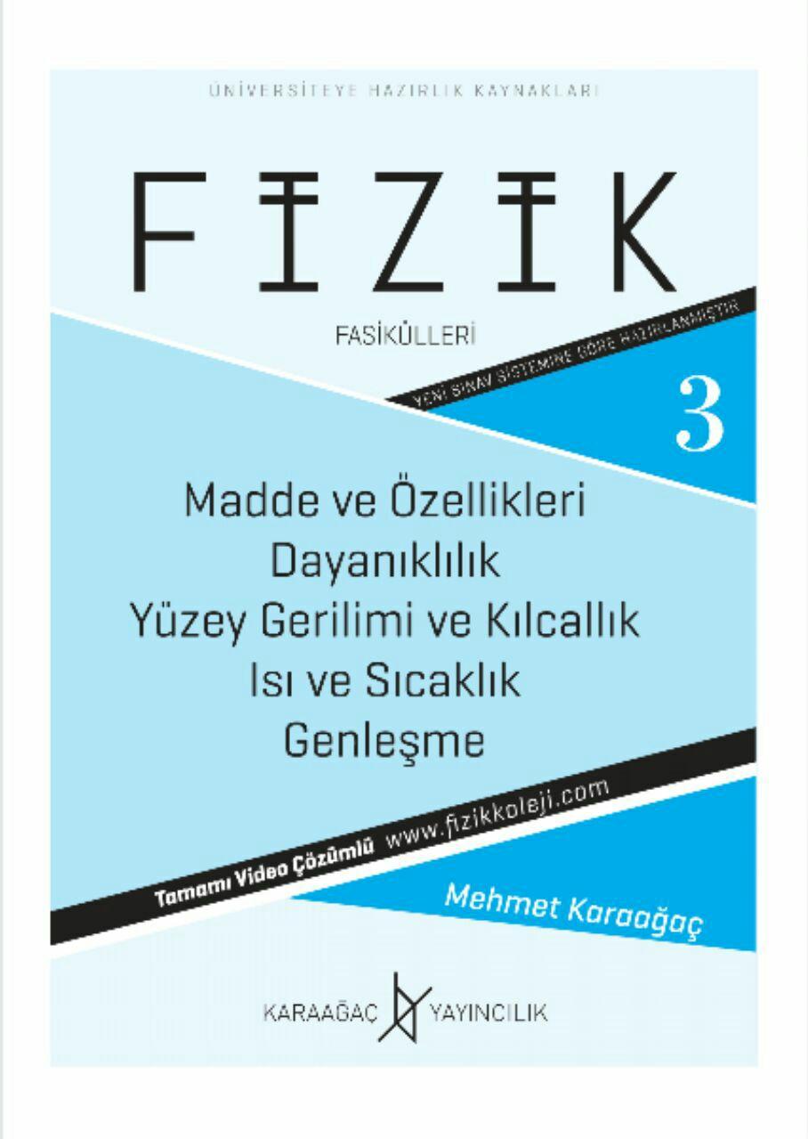 Karaağaç Yayınları YKS Fizik 3. Fasikül