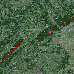 Wanderroute von Wiesbaden durch den Taunus, Soonwald und Hunsrück bis Nähe Nonnweiler