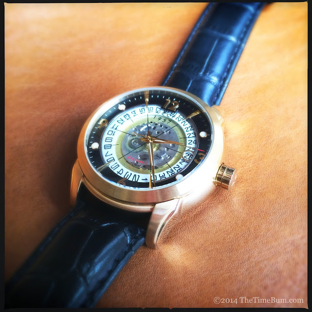 CCCP Sputnik 1 Slava 2437 watch