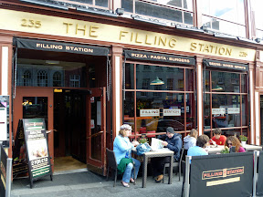 there's a bar in Augusta that's also called The Filling Station the one in Augusta has a lot more rainbow flags than this one