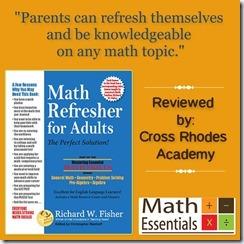 Math Essentials- Math Refresher