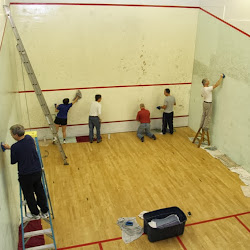 Squash Court Cleaning 2013