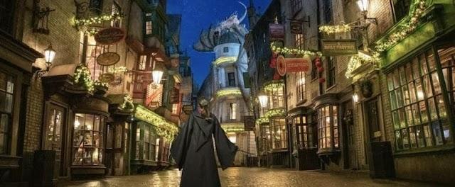 Universal anuncia celebrações de Natal de Harry Potter em 2020