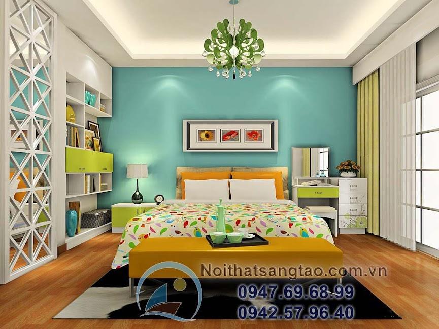 thiết kế phòng ngủ đơn giản đẹp
