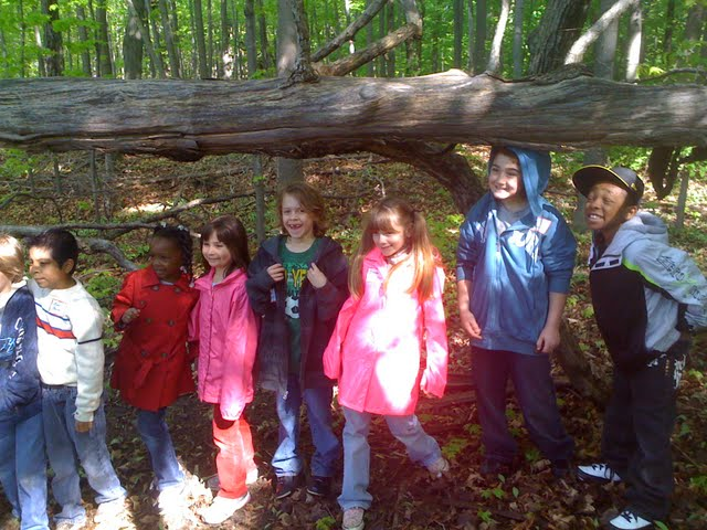 Apple Island Tours with 2nd grade WBSD students, 2010