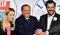 Roma, conferenza stampa congiunta dei leader di centrodestra