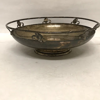 Sterling SIlver Art Nouveau-Style HEAVY Bowl