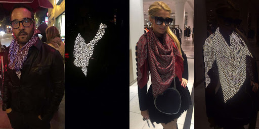 The  ISHU: The Anti-Paparazzi Scarf That Makes Flash Photography Impossible 1