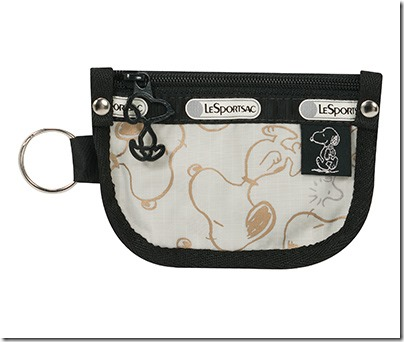Peanuts X LeSportsac 7317 Key Coin Pouch 03