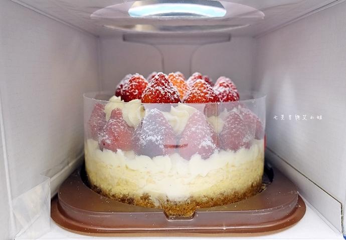 2 士林宣原烘焙蛋糕專賣店 雙層草莓蛋糕 草莓卡士達起士蛋糕