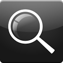 Black Search for Google™ icon