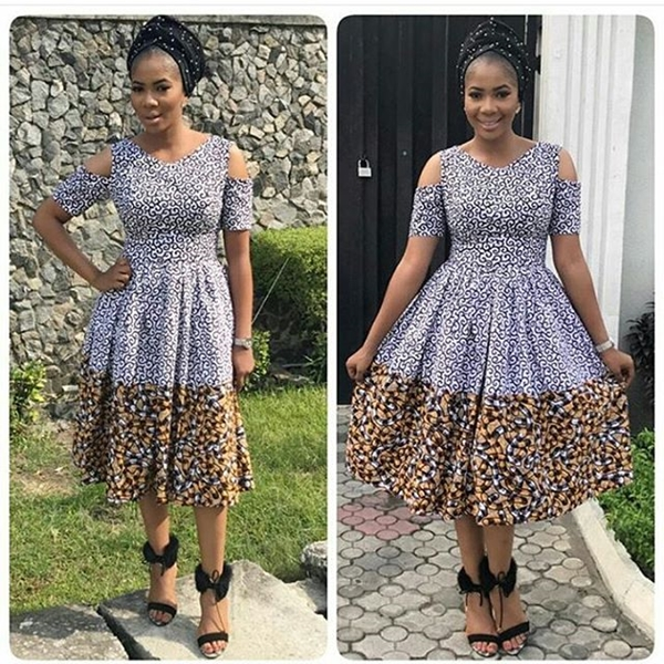 30 Fashionable Ankara Styles & African clothing for women