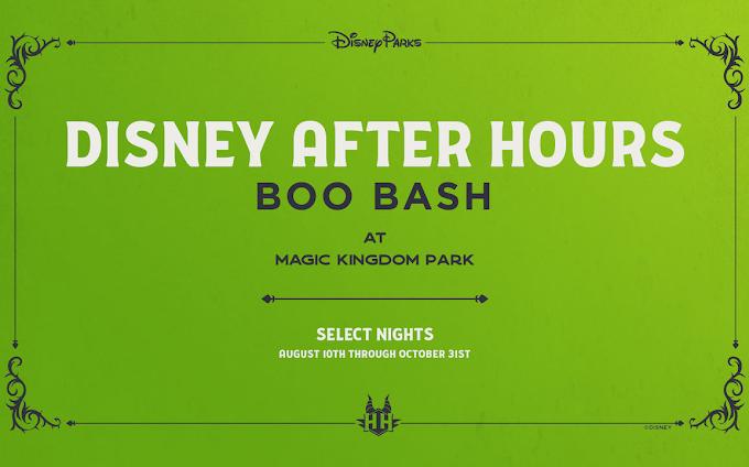 BOO BASH: a nova festa de Halloween After Hours no Magic Kingdom!
