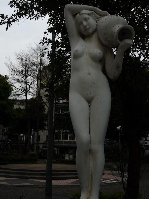 TAIWAN . Taipei De Shandao Temple jusqu à T 101 à pied... - P1160296.JPG