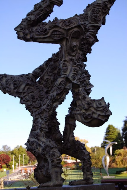 Dance Sculpture at the Peace Arch Park Sculpture Garden / Credit: Bellingham Whatcom County Tourism