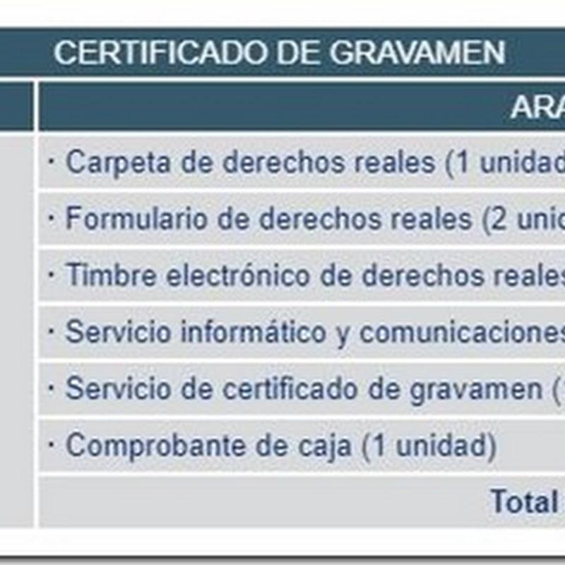 """Bolivia: Requisitos y costos para obtener el """"Certificado de Gravamen"""" en Derechos Reales"""