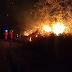 Incêndio atinge vegetação nativa na Serra da Bandeira em Barreiras