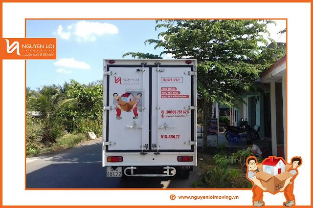 Thuê xe tải ở TPHCM