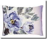 Designers Guild hand painted cushion