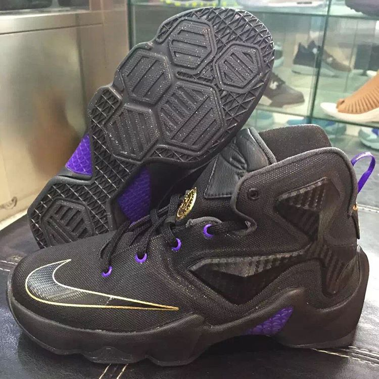 nike lebron 13 kids purple
