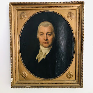 Antique Oil Portrait #2