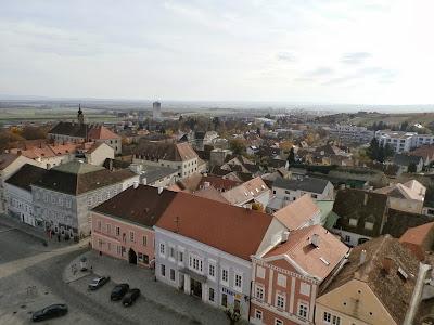 Blick vom Rathausturm Richtung Süden