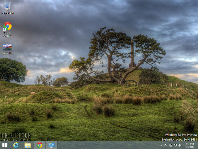 One Tree Hill Theme in Windows 8.1
