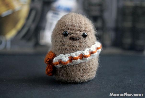 Personajes tejidos a crochet